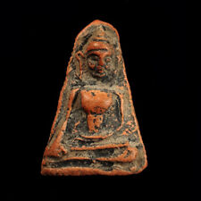 Real Phra Phong suparn Kru Suphanburi, Old Thai Amulet Buddha For Lucky Pendant