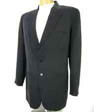DKNY NWT Suit Separate Jacket Blazer Size 14 100% SILK Solid Black