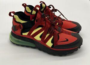 Nike Air Max 270 Bowfin AJ7200-003 Black/University Red SZ 8 Men's NO BOX