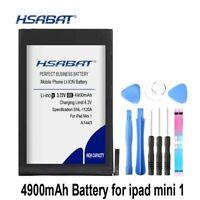 HSABAT A1445 4900mAh Battery for ipad mini 1 for iPadmini1 A1432 A1454 A1455 Bat