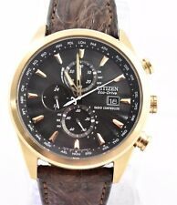 Citizen AT8013-17E Eco-Drive Limited Edition World Chronograph Dress Watch