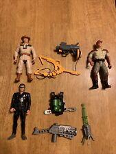Jurassic Park Action Figure Ian Malcom Eddie Carr Jaws Jackson Kenner Lot