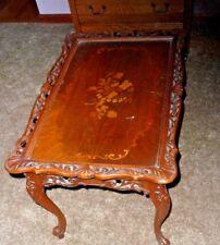 Antique Walnut Coffee Tea Table