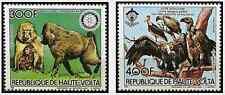 Timbres Animaux Singes Oiseaux Haute Volta PA270/1 ** lot 25448