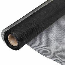 Glasvezel Gaas op rol voor Hordeuren en -ramen 150 x 500 cm Zwart vliegenhor