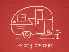 LIFE IS GOOD WOMENS L/S  HAPPY CAMPER  T- SHIRT SIZE XL