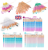 20 Make up Brushes Set Professional Face Powder Foundation Eyeshadow Blusher