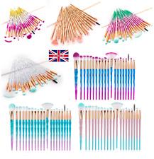 20PCS Diamond Make up Brushes Set  Face Powder Foundation Eyeshadow Tool UK