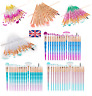 20PCS Diamond Make up Brushes Set  Face Powder Foundation Eyeshadow Tool UK
