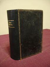 1834 Hebrew Bible - Caroli Tauchnitii, Leipzig