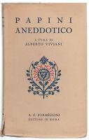 ALBERTO VIVIANI-PAPINI ANEDDOTICO- A.F. FORMIGGINI ROMA 1936-O198