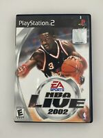 NBA Live 2002 - Playstation 2 PS2 Game - Complete & Tested