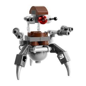 LEGO Star Wars Droideka Destroyer Droid Minifigure NEW 75000 Mini Figure