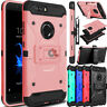 For ZTE Blade Z Max/Zmax Pro 2/Sequoia Slim Case Clip Holster Stand Armor Cover
