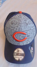 NWT Chicago Bears New Era 39thirty 3930 Reflective Hat Cap Sz  Medium/Large