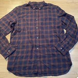 NWOT French connection men's flannel size XL