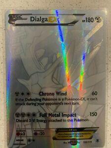 Dialga EX - 122/119 - Full Art Secret Rare XY: Phantom Forces Singles near MINT