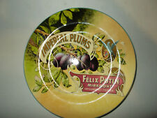 Imperial Plums Felix Potin Miramont France Collectors Plate