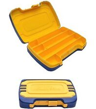 Megapro 3pc Screwdriver Hard Shell Rugged Case w Extra Bit Compartments