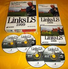 LINKS LS 1999 Pc Versione Inglese 1ª Ed Big Box ○○○○○ COMPLETO