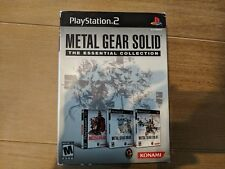 Metal Gear Solid The Essentials Collection (Sony Playstation) PS1 PS2 NTSC Rare