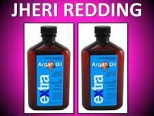 (2) JHERI REDDING RUSK EXTRA MOROCCAN ARGAN DEEP SHINE OIL HAIR TREATMENT 8.4 OZ