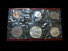 1962 Us 5 Coin Mint Set Silver Denver Mint