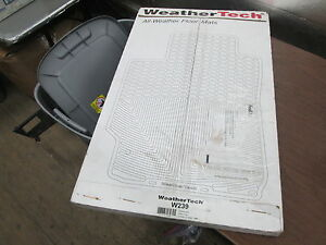 NOB WeatherTech All Weather Black Front Floor Mats 2009 - 2014 Ford F150 W239
