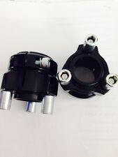 Go Kart - Wheel Hub 40 x 50mm Black - Inc Studs & Nuts x 2 - NEW