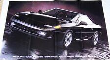 1991 91 Dodge Performance cars Stealth  poster brochure