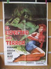 396      EL ESPECTRO DEL TERROR SANCHO GRACIA MARIA PERSCHY