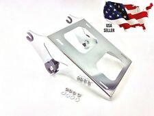 CHROME HD HARLEY QUICK RELEASE TOUR PAK MOUNTING RACK 2014-2017 TOURING 53000221