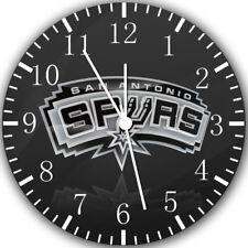 San Antonio Spurs Frameless Borderless Wall Clock Nice For Gifts or Decor W293