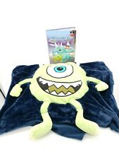 Disney Mike Wazowski Monsters Inc Pillow Case With Book