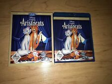 DISNEY THE ARISTOCATS BLU-RAY DVD DMR MOVIE CLUB EXCLUSIVE NO DIGITAL SLIPCOVER!