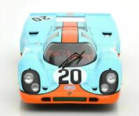 1970 Porsche 917 K #20 Gulf race car 24 Hour LeMans Siffert Redman 1:18 CMR