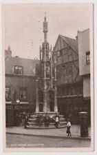 Hampshire postcard - City Cross, Winchester - RP - P/U 1908