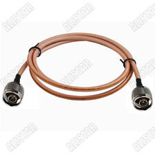 1pcs N-Type Male to N male plug Connector WiFi Adapter RF pigtail cable RG400 1M