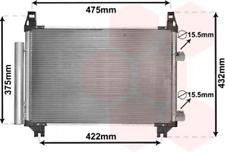 Kondensator, Klimaanlage für Klimaanlage VAN WEZEL 53005404