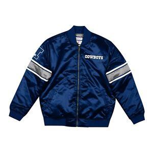 Mitchell and Ness Dallas Cowboys NFL Heavyweight Satin Jacket Size Medium