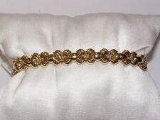 BRACCIALE ORO 18 KT CHIMENTO doubleface Gold Bracelet BRACELET D'OR Goldarmband