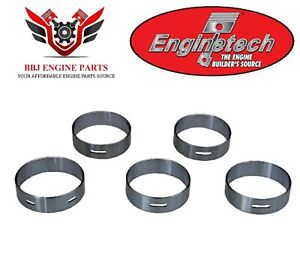 Ford 221 255 260 289 302 5.0 351w 5.8 Enginetech Cam Bearings 1962 - 2001