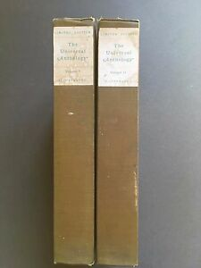 THE UNIVERSAL ANTHOLOGY Vol 3,13, Illustrated, Limited, 1899, Hardcover