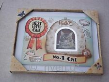 MY CAT Best Loved Pussy Cat PICTURE Frame PET Keepsake@FELINE FRIEND@Kitten Fish