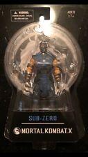 New Mezco Toyz Mortal Kombat X SUB-ZERO 6 MOC MOSC 2015 Action Figure