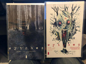 WYTCHES #1 + 2 Thought Bubble VARIANT cover SUPER RARE Scott Snyder Image Comics