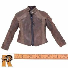 GK Diamond 5 Ralap - Brown Leather Jacket - 1/6 Scale - Damtoys Action Figures