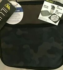 Arctic Zone CAMO Insulated Lunch Box w/ Food Container, Bottle & Ice Pack NEW