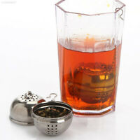 CBD8 New Essential Stainless Steel Ball Tea Infuser Mesh Filter Strainer w/hook