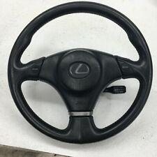 2001-2005 OEM Lexus IS300 Steering Wheel Leather & Airbag |S758